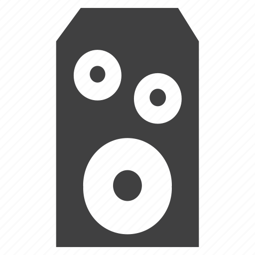 audio, illustration, monitors, player, speaker, stereo icon