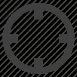 efficiency, focus, goal, key, plan, target icon