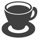 cafe, coffee, cup, menu, saucer, tea icon