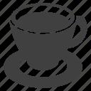 cafe, coffee, cup, menu, saucer, tea icon