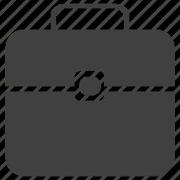 box, briefcase, businessman, document, tool icon