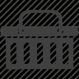 basket, shopping basket icon