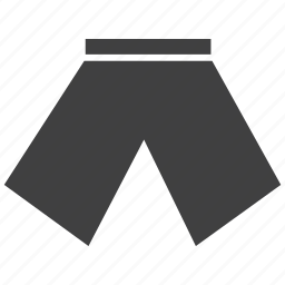 comfortable, shorts, wear icon