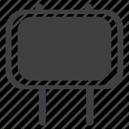 ad board, billboard, board icon