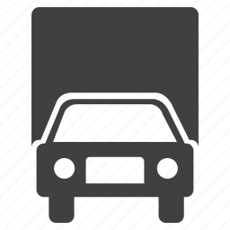 automobile, freight, shipping, transportation, truck, vehicle, wheel icon
