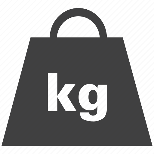 Capacity Equipment Kilograms Weigh Stone Weight Icon