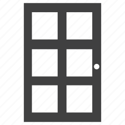 door, exit icon
