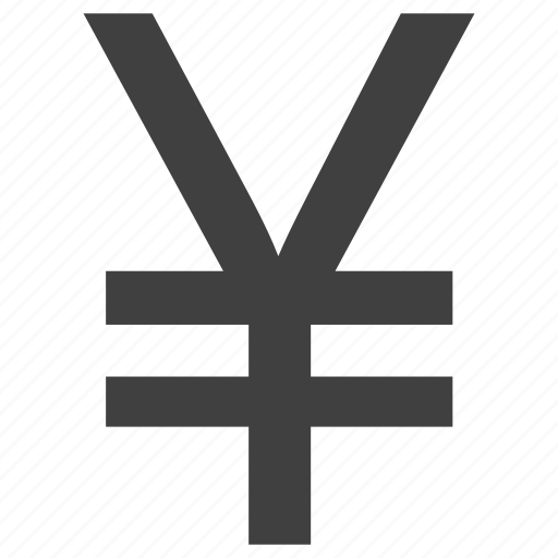 coin, currency, finance, japan, money, sign, stock, yen icon