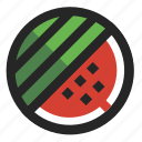 berry, cooking, food, fruit, funky, juicy, watermelon icon