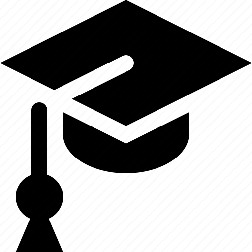 academic cap, education, graduation cap, mortarboard icon