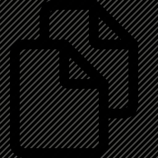 copy, copycat, document, double, duplicate icon