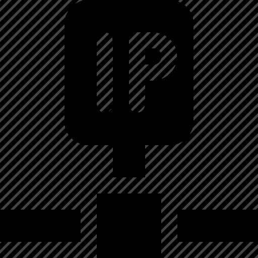 address, internet protocol, ip, number icon