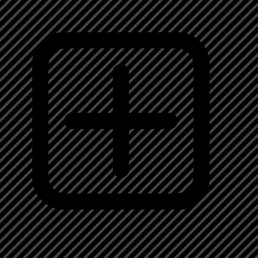 add, more, plus, sign icon