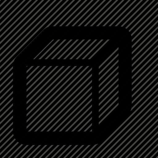 box, cad, cube, solid, volume icon