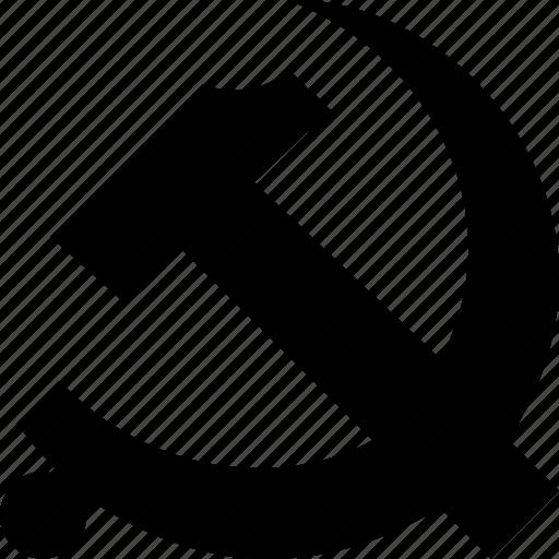 Comunism, hammer, marxism, sickle, socialism, socialist, soviet icon - Download on Iconfinder