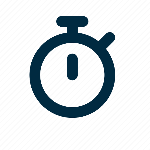 chronometer, timer icon