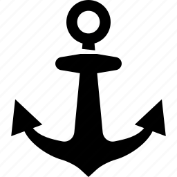 anchor, marine icon