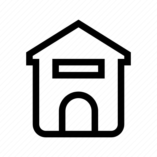 dog, doghouse, home, house icon