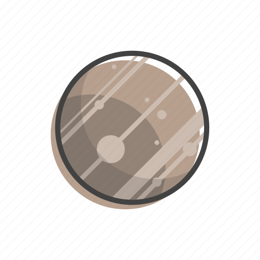 jupiter, planet, solar, space, system, universe icon