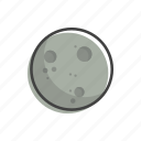 moon, planet, space icon