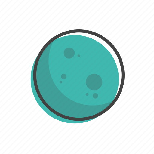 planet, pluto, solar, space, system, universe icon