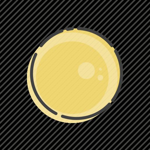 planet, space, sun icon