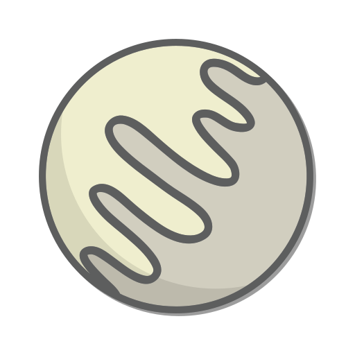 mercury, planet, space icon