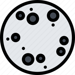 astronomy, mercury, planet, science, solar system, space icon