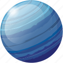 neptune, planet, science, space, universe icon