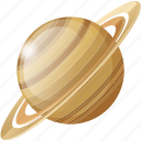 planet, saturn, science, space, universe icon