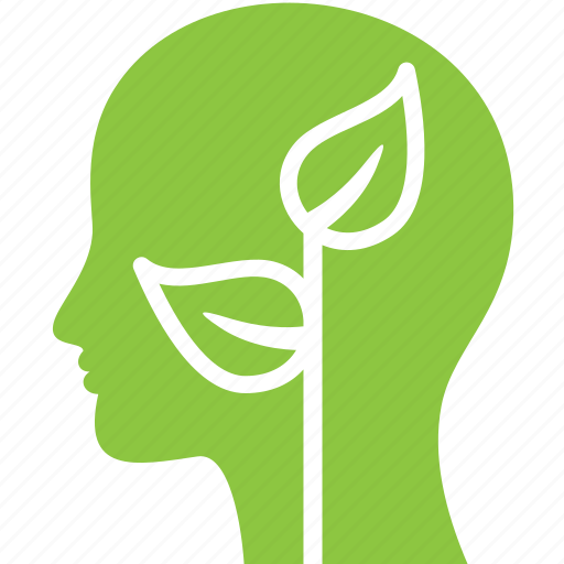 ecology, head, nature, plant icon