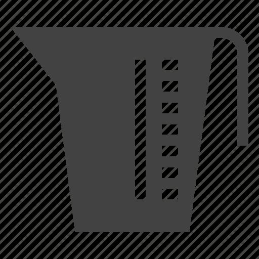 beaker, package, packaging, plastic icon