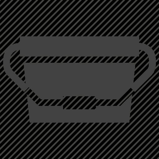 bucket, package, packaging, plastic icon