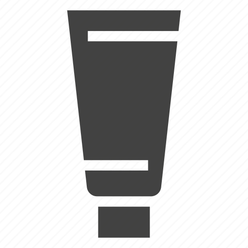 cream, package, packaging, plastic, tube icon