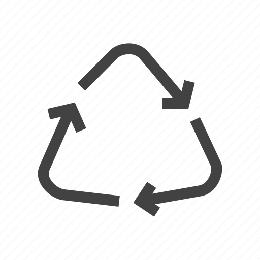 disposable, plastic, recycle, recycling, waste icon