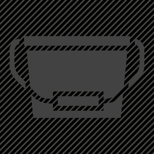 bucket, paint, plastic icon
