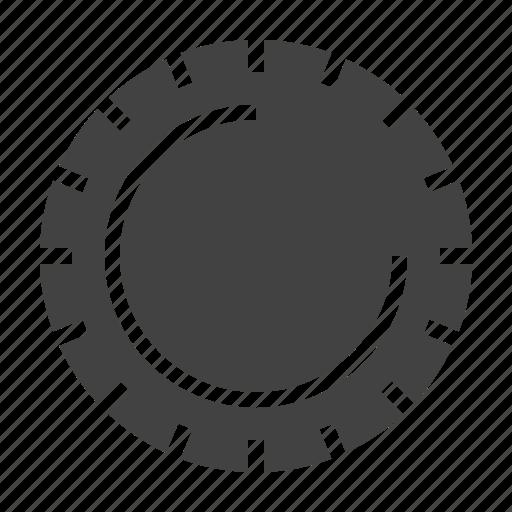 disposable, plastic, plate icon