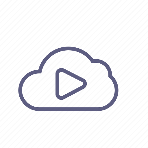 cloud, music, play, player, repository, swarm, video icon