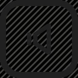 design, line, player button, web icon
