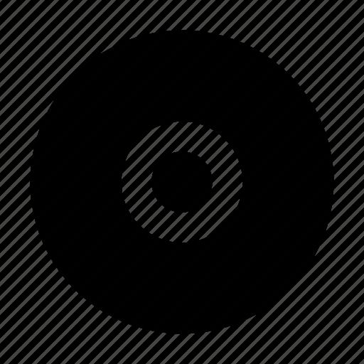 cd, disc, music, player, sound, ui, vinyl icon