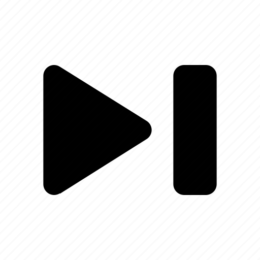 music, player, skip, skip next, ui, video icon