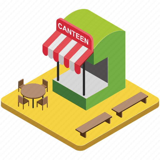 cafe, cafeteria, canteen, coffee shop, restaurant icon