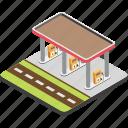 filling station, fuel pump, fuel station, gas station, petrol pump icon