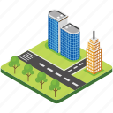 city building, modern architecture, real estate, skyline, skyscraper icon