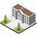 building architecture, famous places, usa monument, washington dc, white house icon