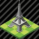 eiffel tower, famous place, france tower, landmark, paris monument