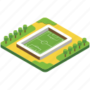 badminton court, football ground, football pitch, soccer field, tennis court icon