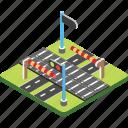 city road, highway, motorway, roadside, route