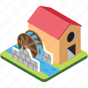 hydropower, water energy, water power, water wheel, watermill