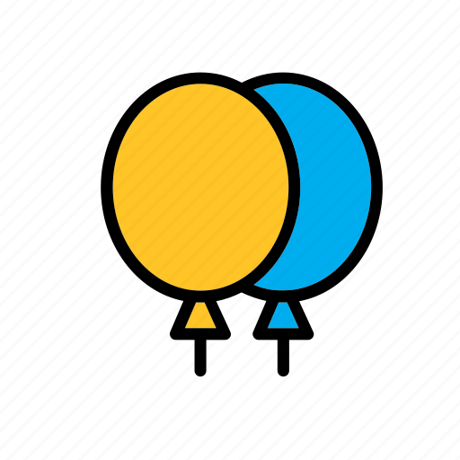 balloon, balloons, game, plaything, toy, toys icon